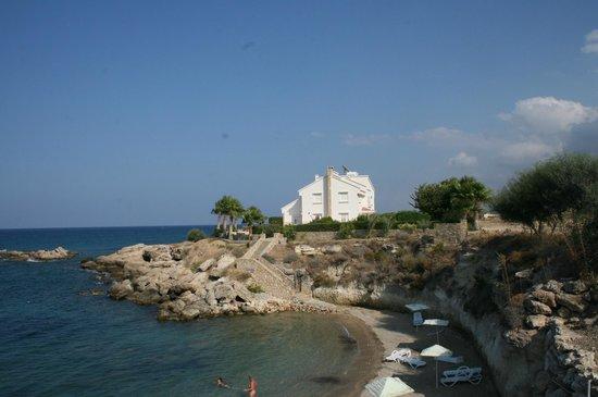 Hotel Sempati: przy plaży