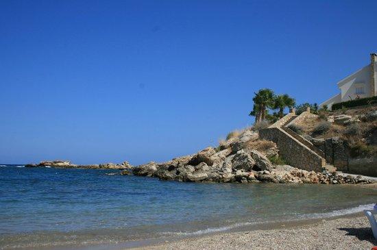 Hotel Sempati: plaża hotelowa