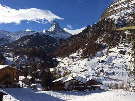 Hotel Matterhorn Focus: view from our room
