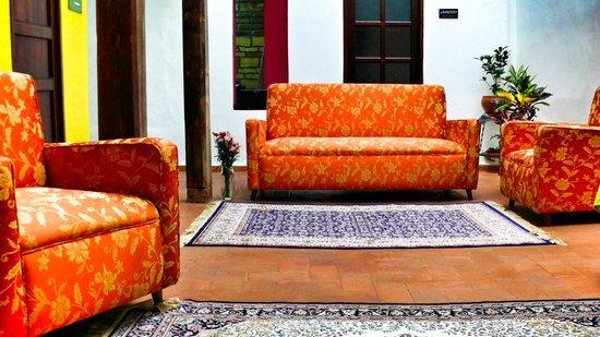 Casa de las Rosas : Living Room