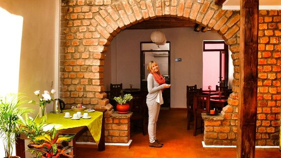 Casa de las Rosas: Restaurant