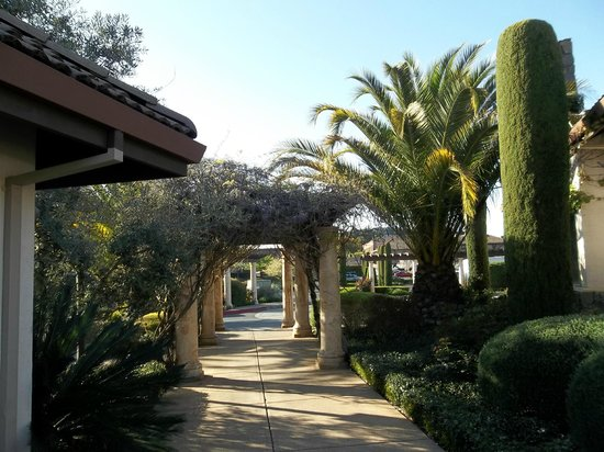Villagio Inn and Spa: Wisteria lined pergola