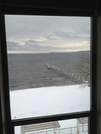 West Bay Beach, a Holiday Inn Resort: view from one of two windows in room 443