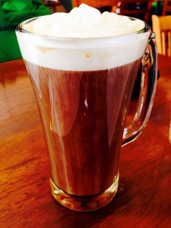 Joe's Creekside Cafe: Irish Coffee