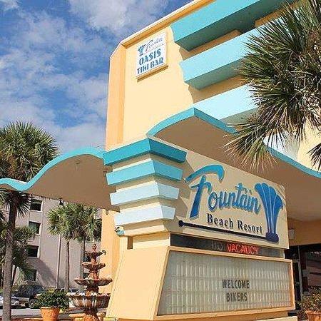 Fountain Beach Resort Daytona Beach Exteriro