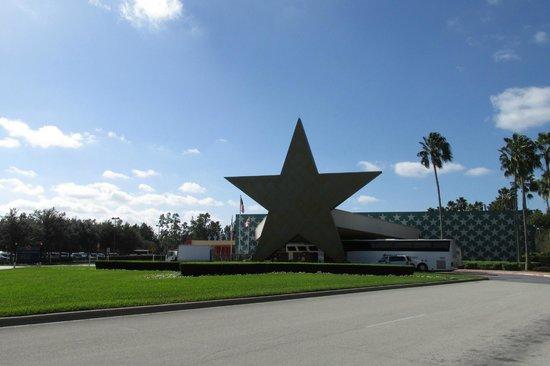 Disney's All-Star Movies Resort : Chegada do Hotel