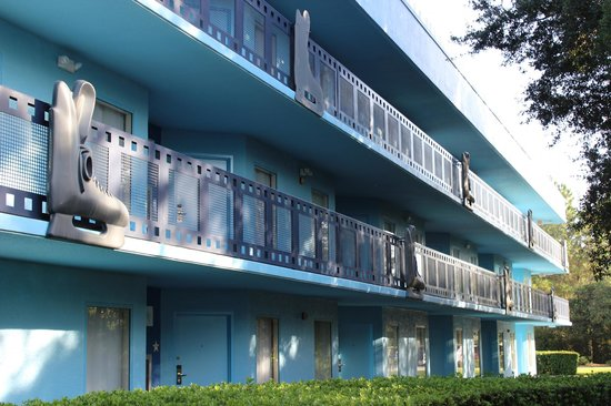 Disney's All-Star Movies Resort : Fachada