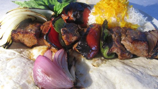 Aabee Persian & Mediterranean Restaurant: Shish Kabob