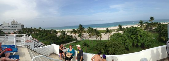 Congress Hotel South Beach: View from the rooftop