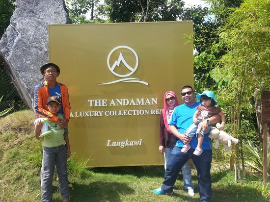The Andaman, A Luxury Collection Resort: Entrance to andaman