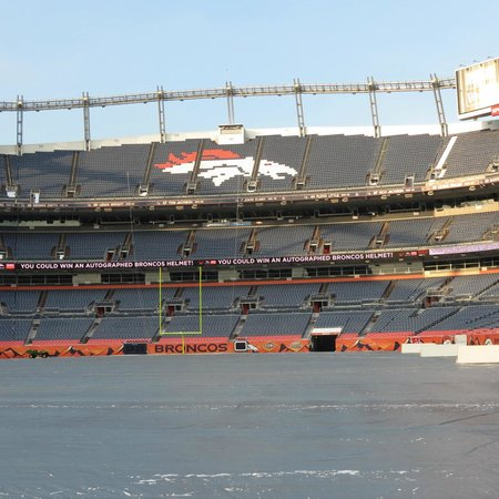 Sports Authority Field at Mile High: view from field level