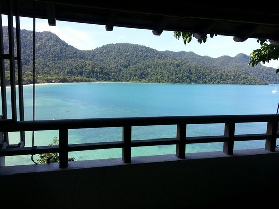 The Andaman, A Luxury Collection Resort : View from spa room