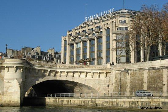 Vedettes du Pont Neuf : Le pont Neuf et la Samaritaine