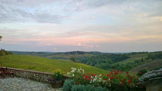 Borgo Argenina: Be sure to enjoy breakfast on the patio or have a glass a wine at sunset