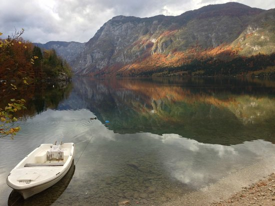 Lake Bohinj: beautiful