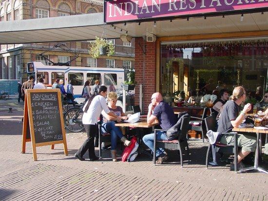 Taj Indian: out side Restaurant