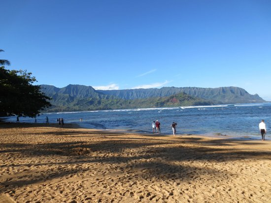 Hanalei Bay Resort : Great that you can walk to this beach!