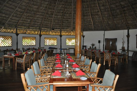 Kanantik Reef & Jungle Resort: Dining room