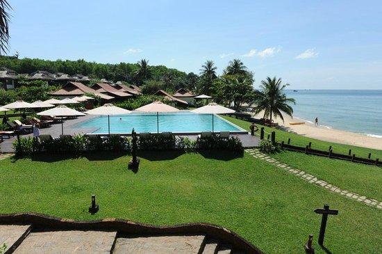 Chen Sea Resort & Spa Phu Quoc : Aussicht auf die Anlage