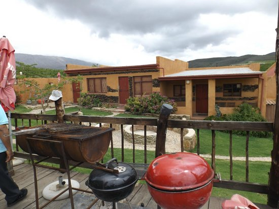 Karoo Saloon: The accommodation block