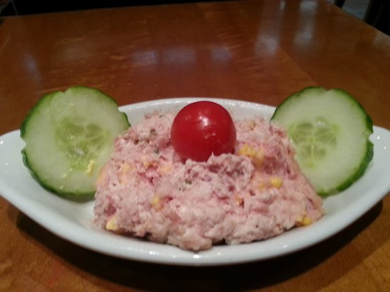 Hilton Knoxville Airport : Ham salad....from scratch