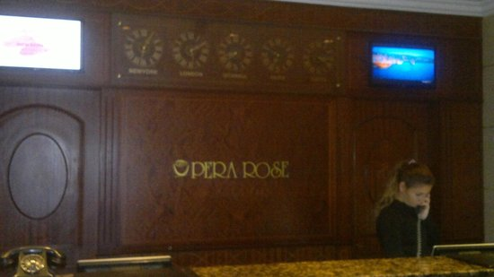 Rose by Molton Hotels: bella recepsionista