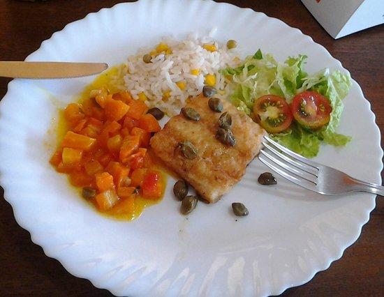 Sabor de Jurere Restaurante: Peixe com alcaparras!!