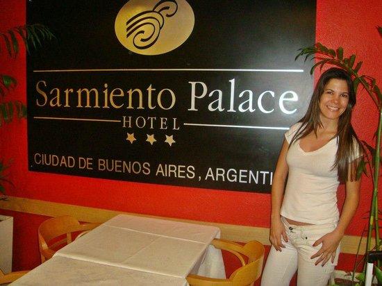 Sarmiento Palace Hotel: Chegando no Hotel primeiro dia em Buenos Aires