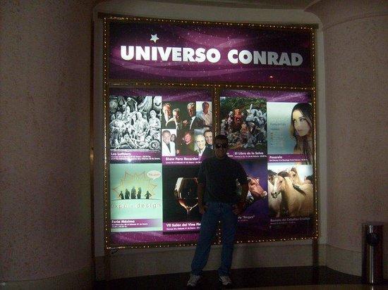 Conrad Punta del Este Resort & Casino : Indo jogar no Cassino.