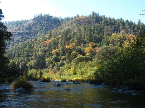 Belden, كاليفورنيا: Feather River just south of Belden.
