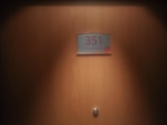 Ramada London North M1: My Room Number.