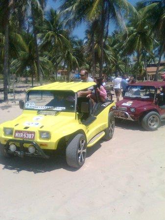 Praia De Maracaipe: passeio de buggy em porto de galinhas