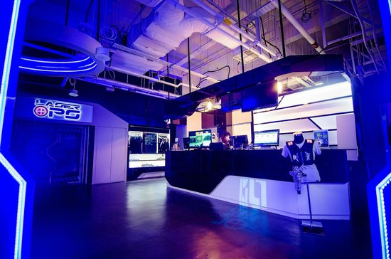 Indoor Laser Tag Arena Picture Of Laserops Singapore