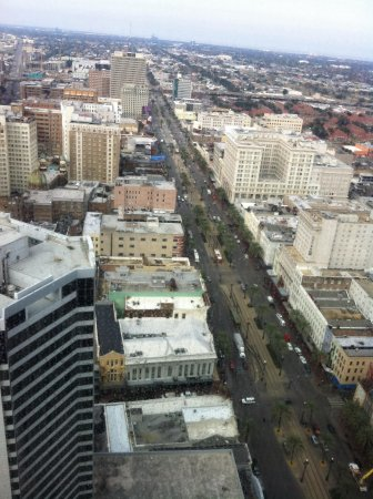Sheraton New Orleans Hotel: Day view