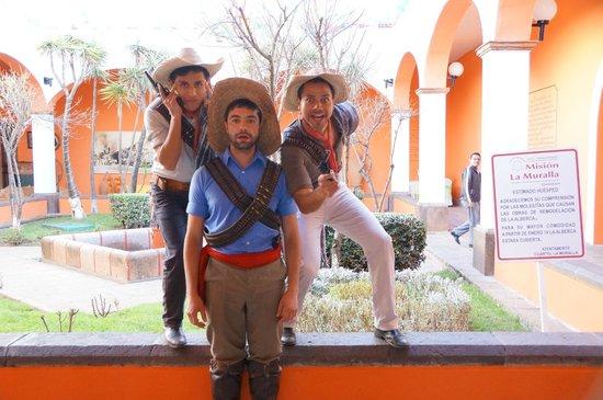 Mision La Muralla: Muy divertido¡