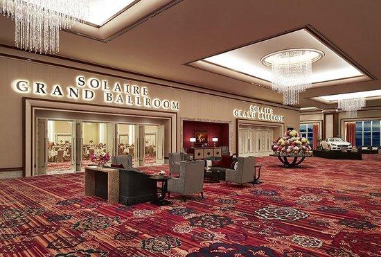 Solaire Resorts and Casino: Ballroom Entrance