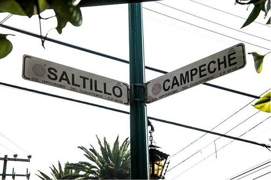 Tao Bed & Breakfast : Cross streets:  Saltillo and Campeche