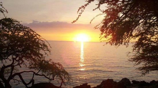 Waipio Rim : Kohala Sunset