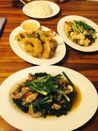 Kao Tom Por Peang: Coccodrillo e tempura