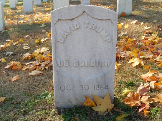 Chattanooga National Cemetery: A Union Soldier's grave