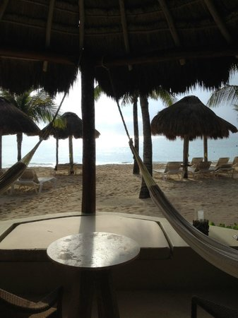 Mahekal Beach Resort : Morning view from 4C porch