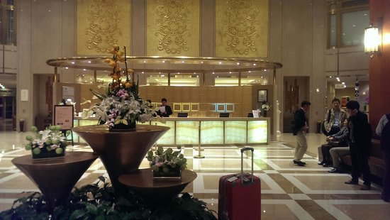 Shenwang Hotel: the lobby