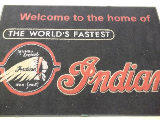 E Hayes and Sons - The World's Fastest Indian: says it all.