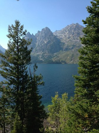 Teton View Bed & Breakfast: Jenny Lake