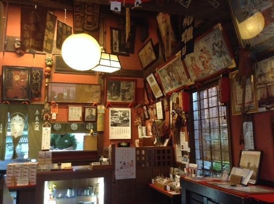 Bunnosukechaya: interior of 文の助茶屋