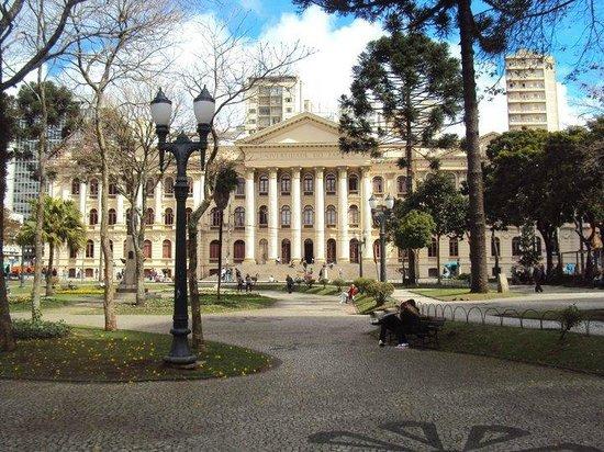 UFPR - Federal University: Durante o dia