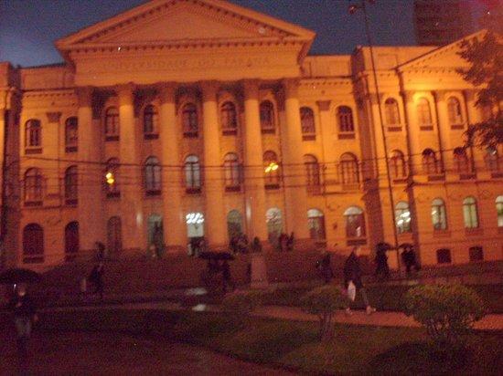 UFPR - Federal University: Durante a noite
