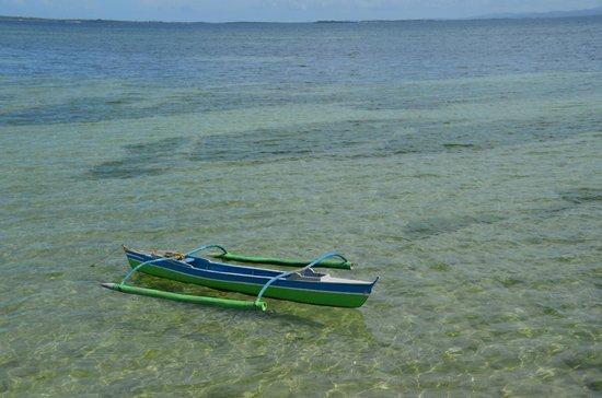 Pacific Cebu Resort: 桟橋からボート