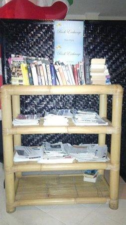 Secret Garden Inn: book exchange