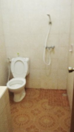 Secret Garden Inn: clean bathroom!